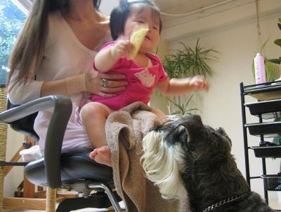 2009 7 15 1s 赤ちゃんのおやつ・・・